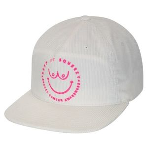 Hurley Julian Squeezy Cap in White breast cancer a